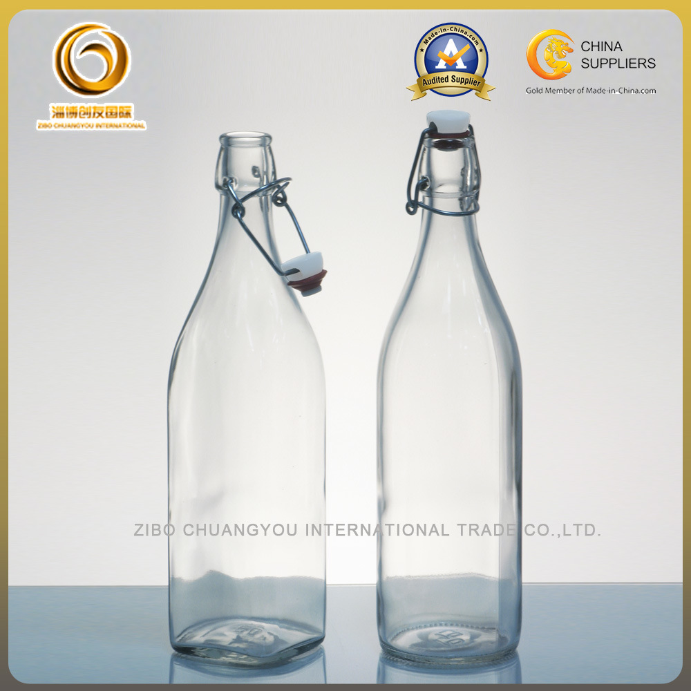 [Hot Item] Wholesale Juice Bottle Factory, Bulk Swing Top Glass Bottle  Company (822)