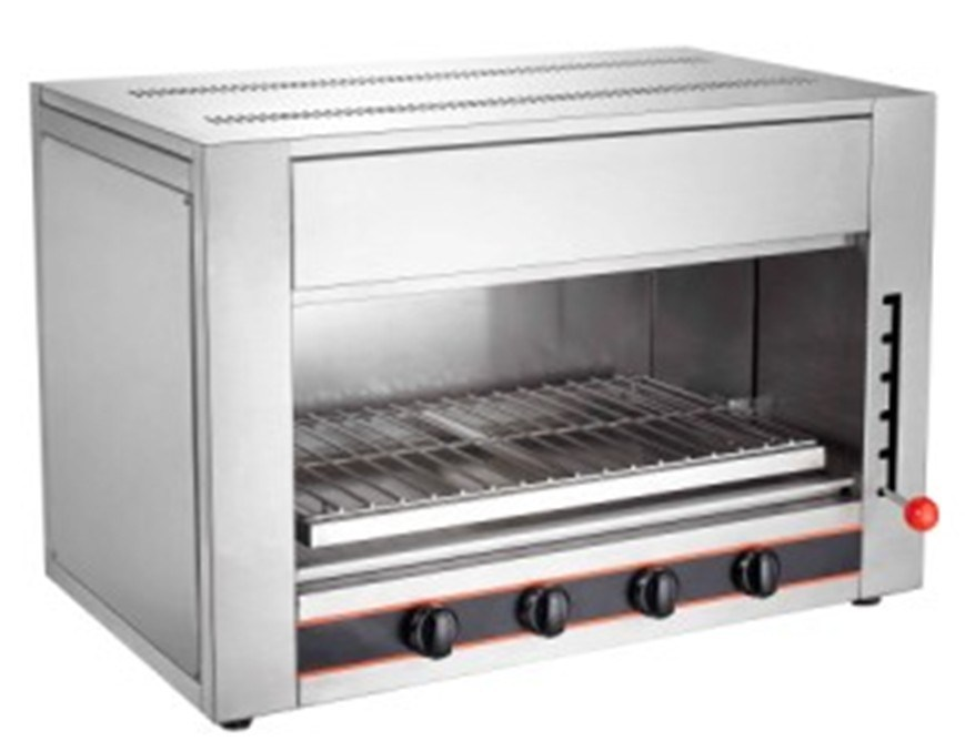 [Hot Item] Stainless Steel Gas Salamander Kitchen Equipment