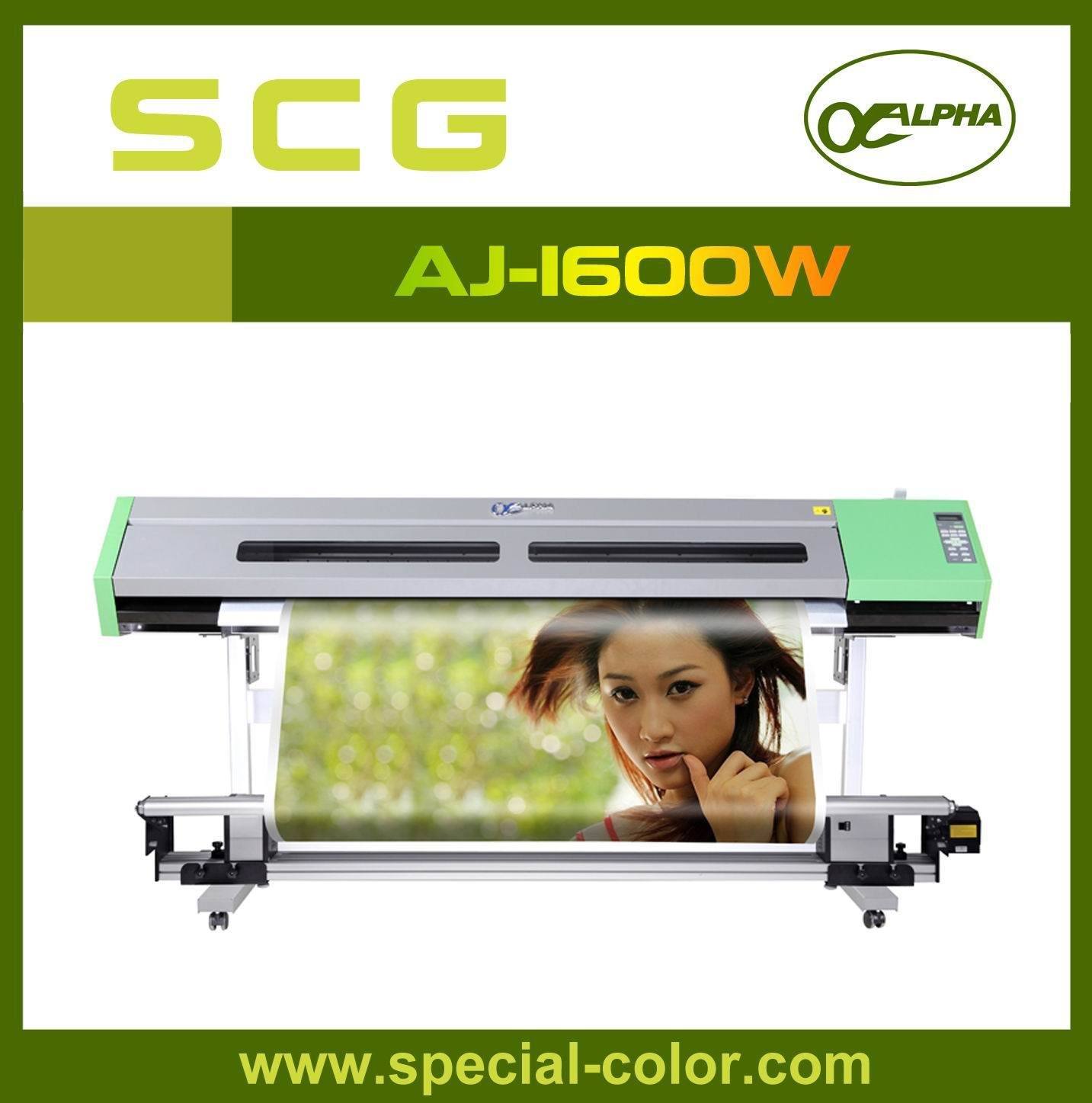 Waterbased Dx5 Alpha Best Inkjet Printers Aj-1600 (W) pictures & photos