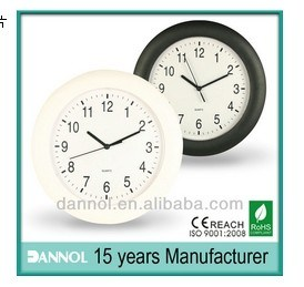 China Dannol Cheap Wall Clocks Promotional Item Clocks For Sale