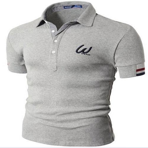 China Mens Custom Logo Embroidery Polo Shirt China Embroidery Polo