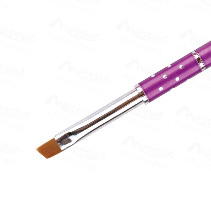 China French Tip Metal Handle Nail Art Gel Nail Brush Pen 2, 4, 6, 8 ...