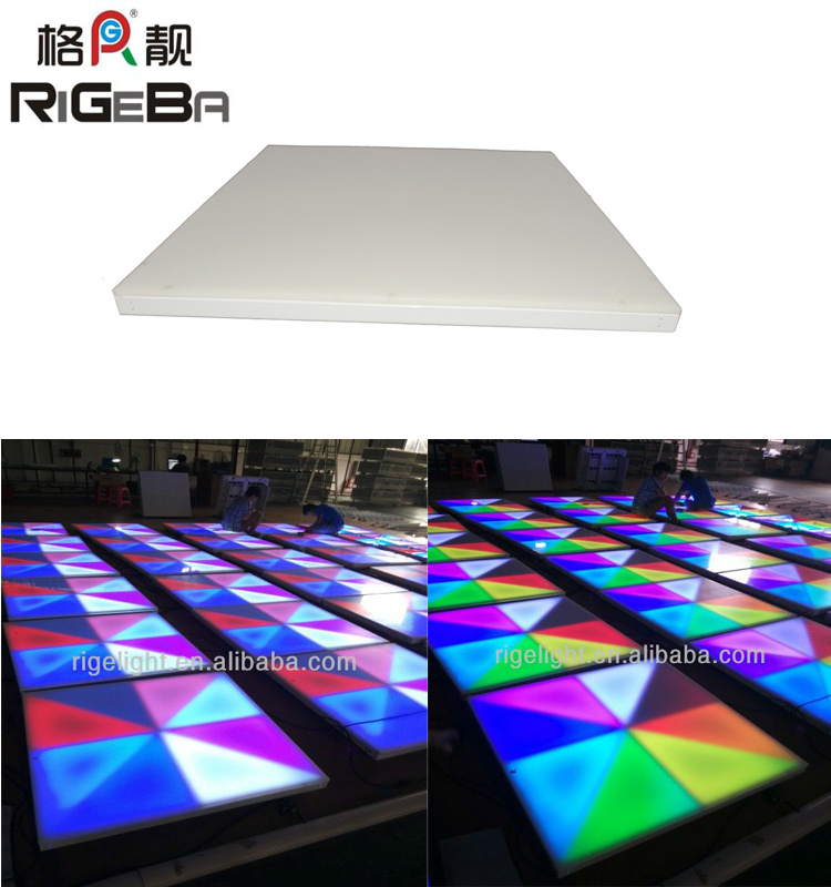 China 1x1 Rgb Led Dance Floor For Stage Disco Dj Party Light China