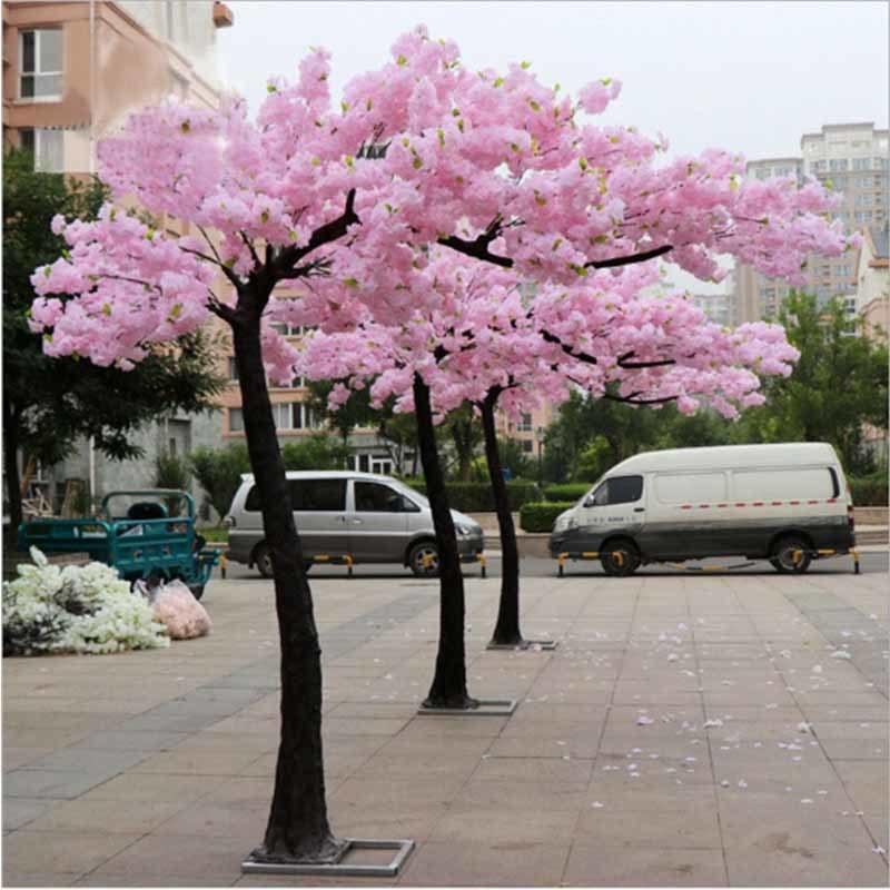 China Factory Direct Indoor Silk Flower Trees Artificial Sakura Cherry Blossom Tree Archs China Artificial Cherry Blossom Tree And Artificial Cherry Blossom Tree Arch Price