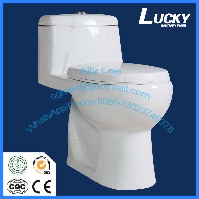 China Jx-6# Lucky Brand Top Sanitary Ware Ceramic Water Closet/High ...