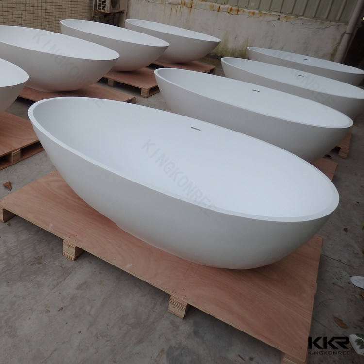 China Bathroom Furniture Freestanding Bath Tub Acrylic Stone Bathtub ...