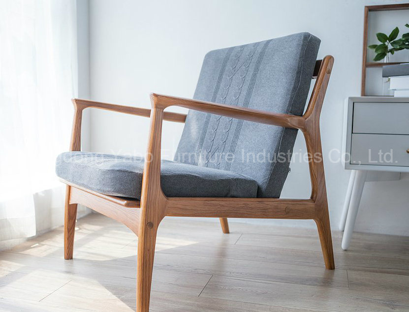 Modern Wooden Hotel Furniture with Living Room Armchair YB WS 64
