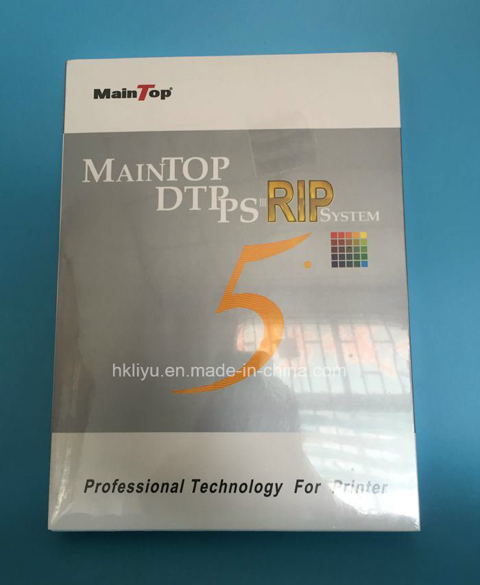 China 5 3 Version Inkjet Printer Maintop Rip Software (English