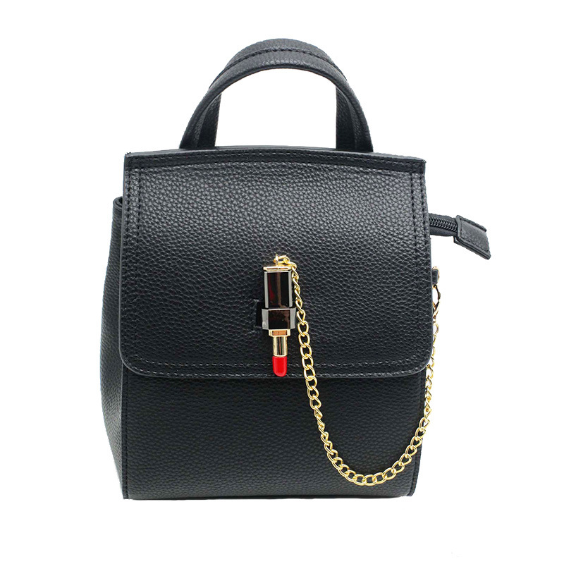 bb5a7ebed70 [Hot Item] Latest Fashion Bags for Teenager Fancy Ladies Handbag Classical  Style Backpack with Lipstick Opening Clasp Ladies Cheap Bag