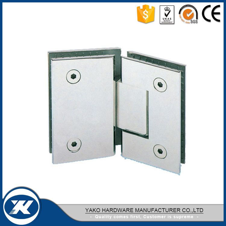 China 180 Degree Welding Or Solid Casting Glass Shower Door Hinge