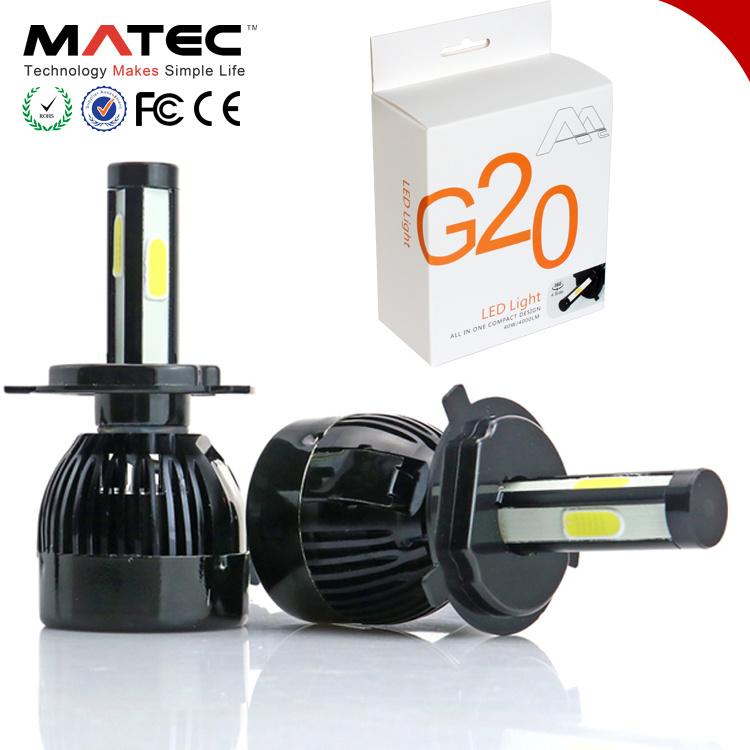 [Hot Item] 40W Car LED Headlight Bulbs H11 H4 H7 LED Headlight C6