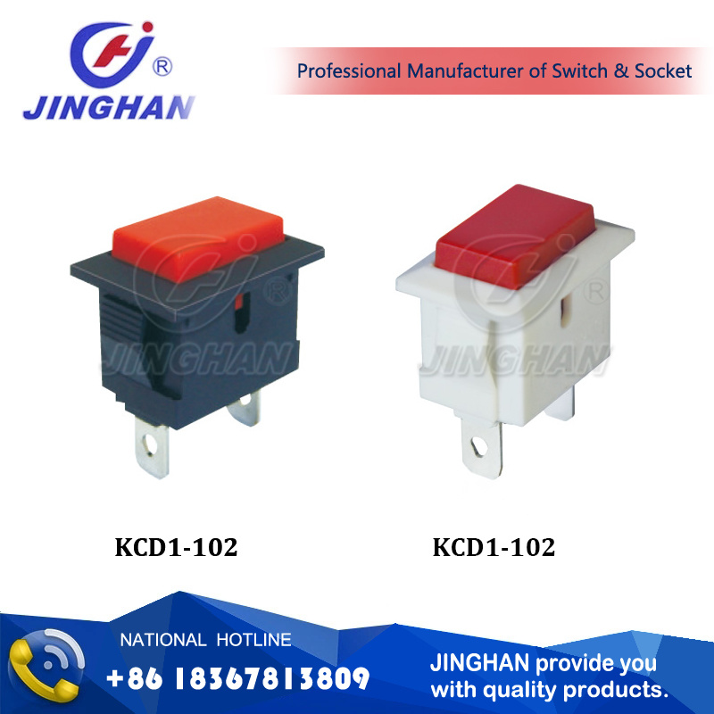 Kcd1-102 Design 2pin Switch Economic Switch