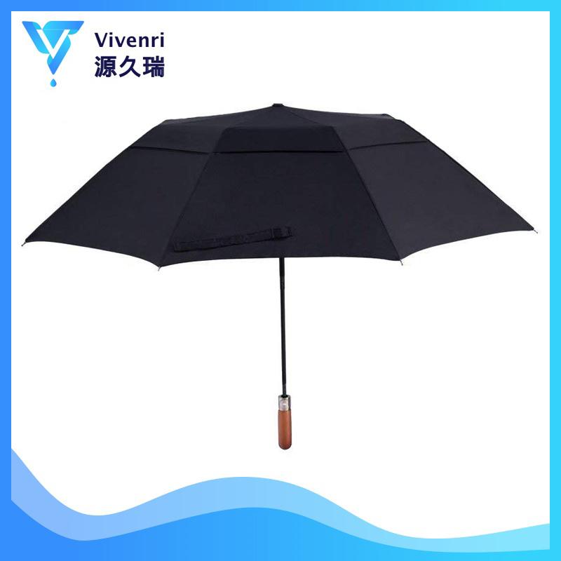 3bf187b0451ae China Two Fold Double Layer Umbrellas 50 Inch Automatic Open Golf Umbrella  - China Square Umbrella, Sublimation Umbrella