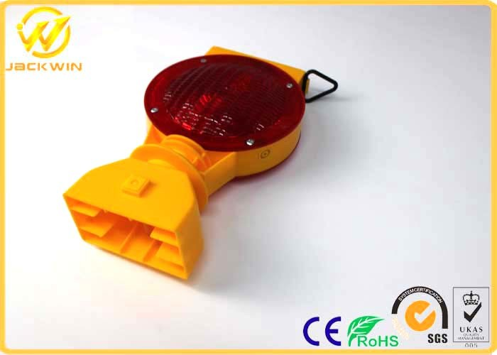 Rechargeable Battery Solar LED Warning Light Barricade Lamp pictures & photos