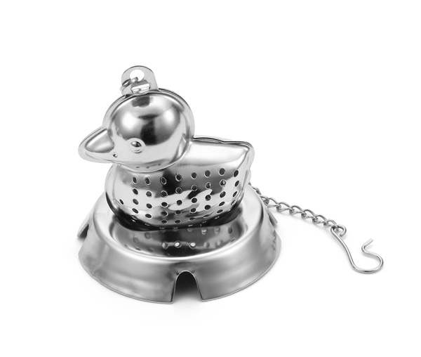 The Duck Tea Set with Chain Tea Strainer pictures & photos