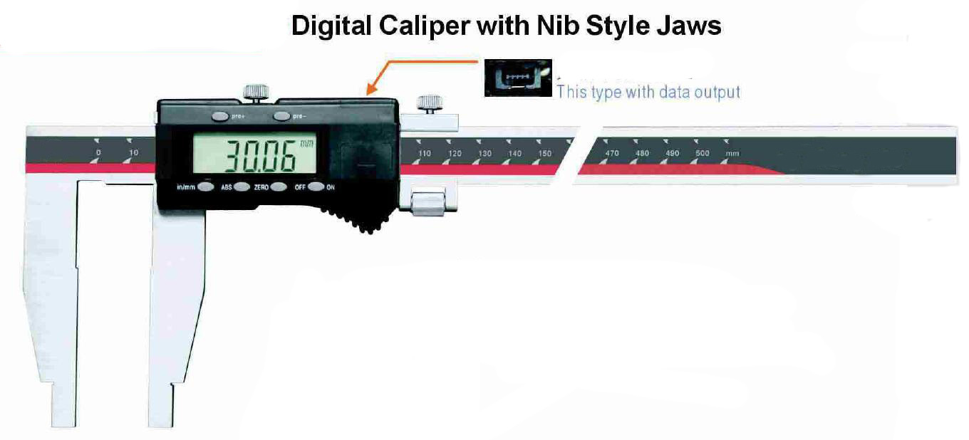 Heavy Duty Digital Caliper Without Upper Jaws pictures & photos