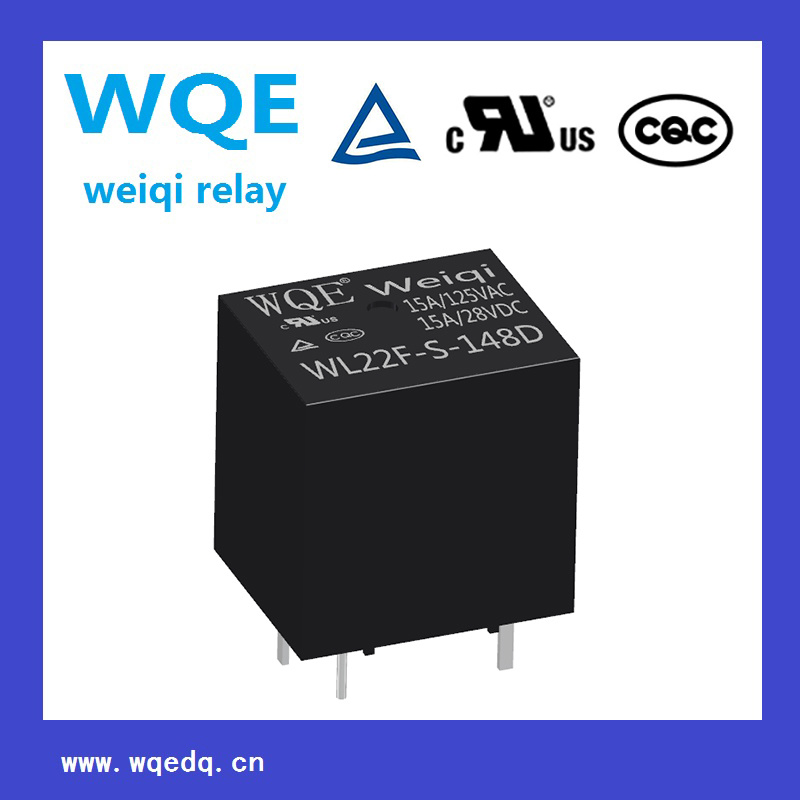 (WL22F) Miniature Size Power Relay for Household Appliances &Industrial Use Contact Sensitivity Switch