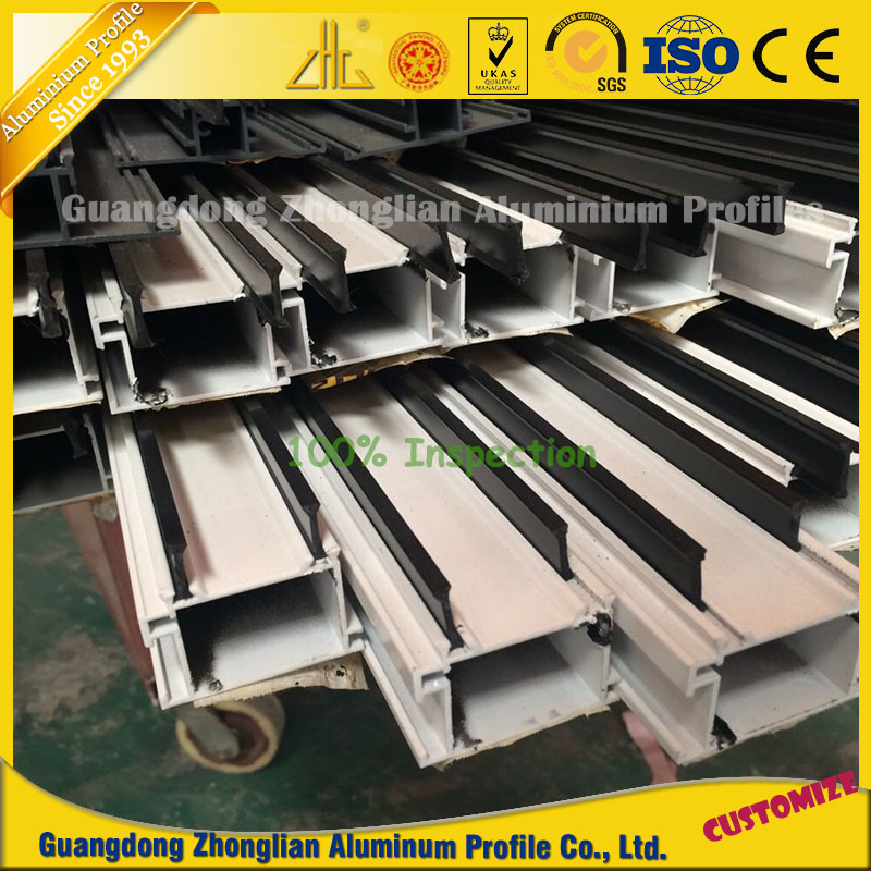 Factory Aluminum Window and Door Frame with Thermal Break pictures & photos