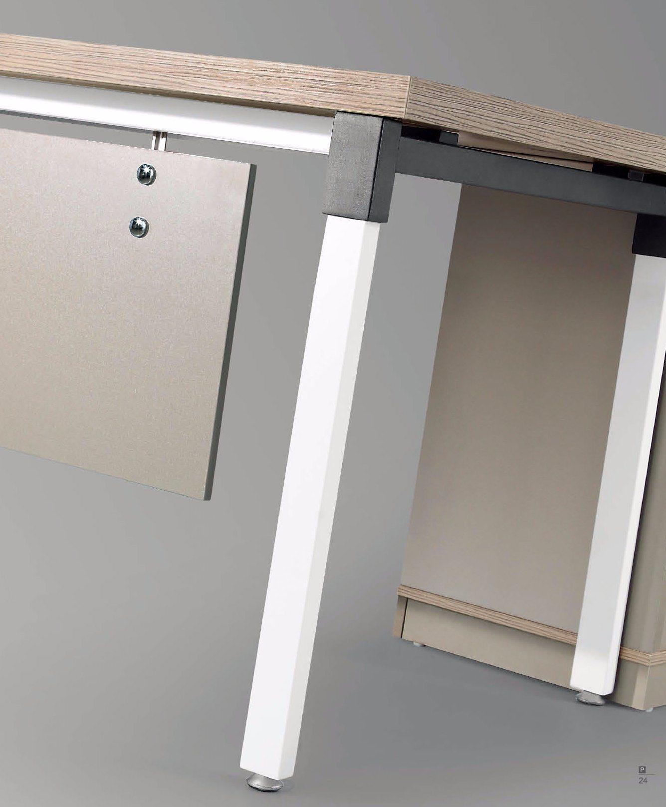 office desk metal. Latest Executive Office Desk Set With Metal Frame