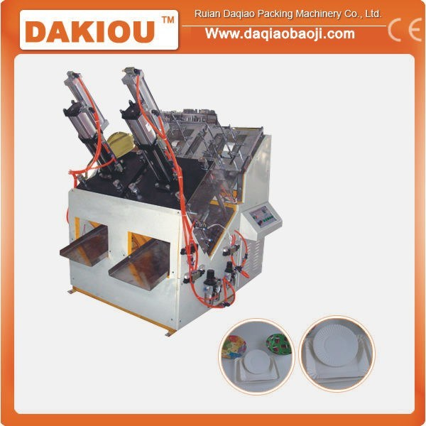 China Low Cost Paper Plate Making Machine - China Paper Dish Machine Paper Plate Machine  sc 1 st  Ruian Daqiao Packaging Machinery Co. Ltd. & China Low Cost Paper Plate Making Machine - China Paper Dish Machine ...