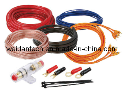 8 gauge power acoustic amplifier amp wiring kit (wd18c-004)