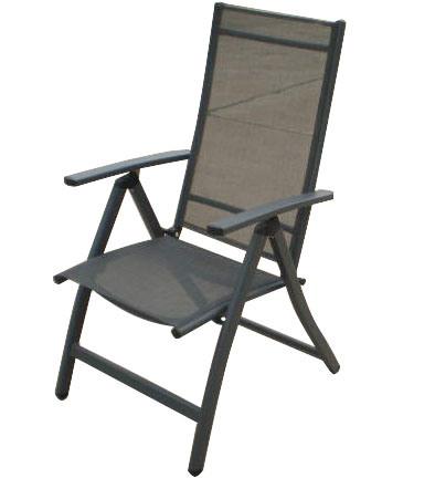 China Adjustable Patio Sling Folding Chair China Garden