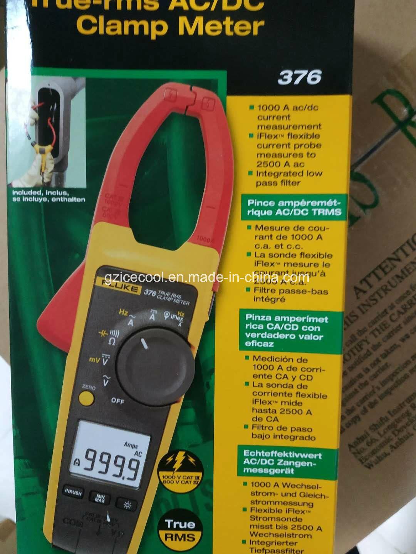 [Hot Item] Original Fluke 376 True RMS AC/DC Clamp Meter with Iflex