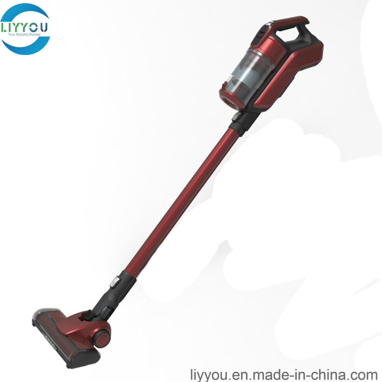 Pet Hair Rechargeable High Power Upright Vacuum Cleaner with One Air Outlets Motor Filter pictures & photos