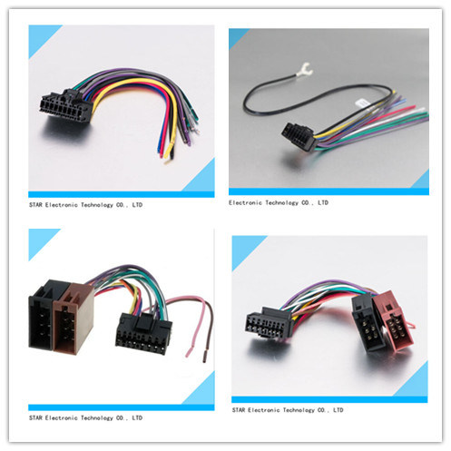 china manufacture factory universal 8 pin iso wiring harness china rh starconnect en made in china com