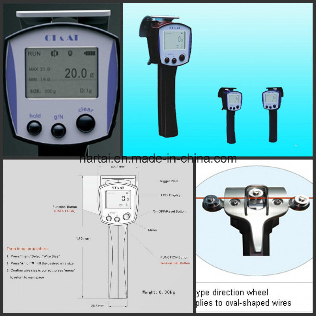 China Digital Tension Meter for Tension Measuring (Tension Gauge ...