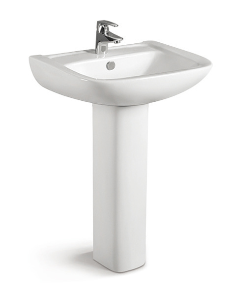 China Pedestal Ceramic Wash Basin CE-Z442