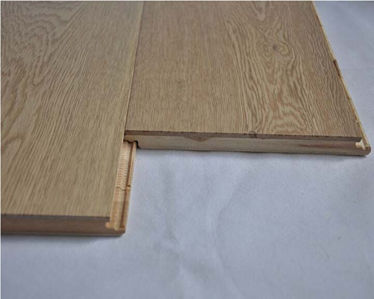 China Parquet White Oak Wood Floor 2 Strips Cheap Floor Tiles
