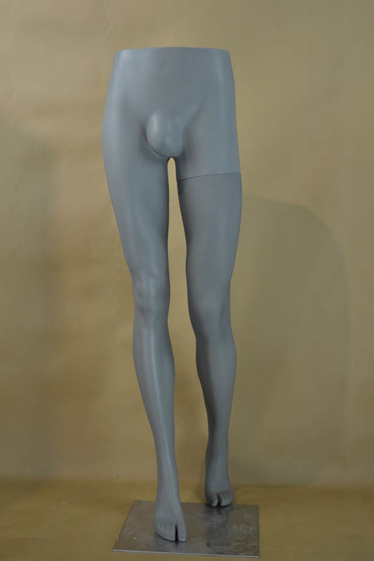 Walking Fashion Male Mannequin Leg for Store Fixture