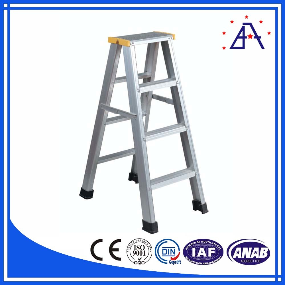 Low Price Safe Telescopic Aluminum Ladder