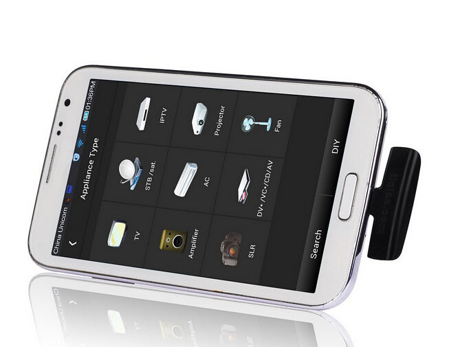 [Hot Item] Zazaremote for Galaxy S4 S3 S2 USB OTG Remote Control/Mobile  Phone Intresting Accessory Universal Remote Control Control TV DVD STB