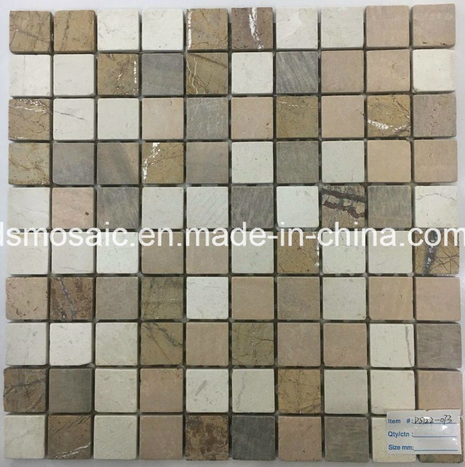 Classicial Rainforest Natural Stone, Glass and Stainless Mosaic pictures & photos