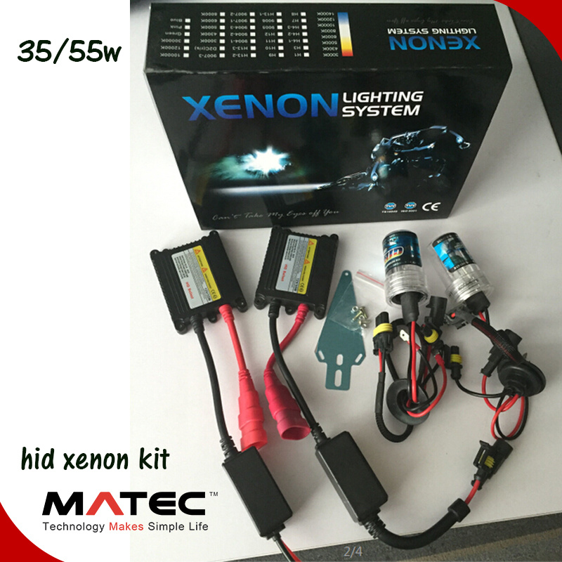 [Hot Item] Wholesale All in One HID Lamp H4 H7 H11 9005 9006 H4 Xenon Kit