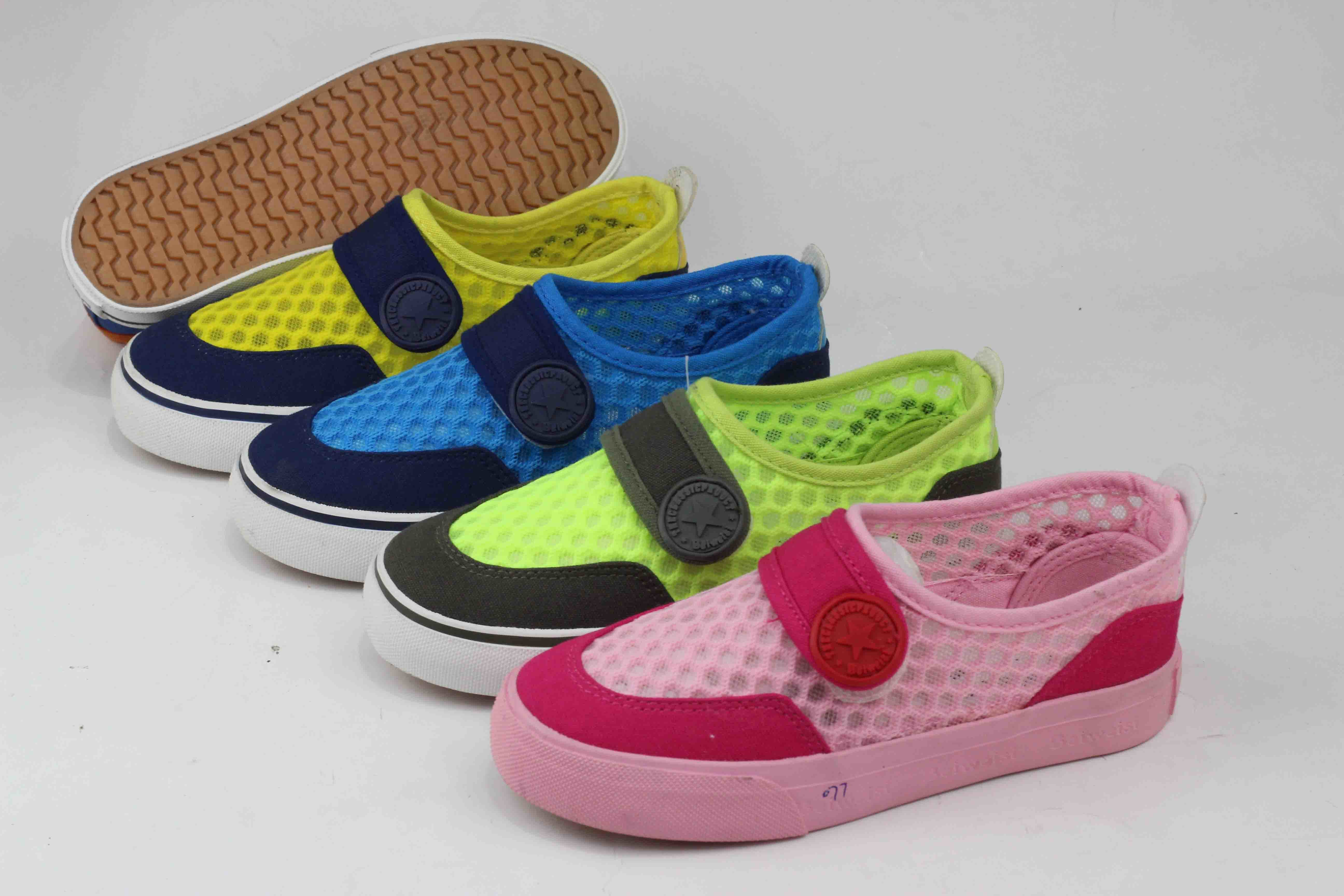 2016 Hot Sell Children Canvas Shoes Rubber Outsole (SNK-02010) pictures & photos
