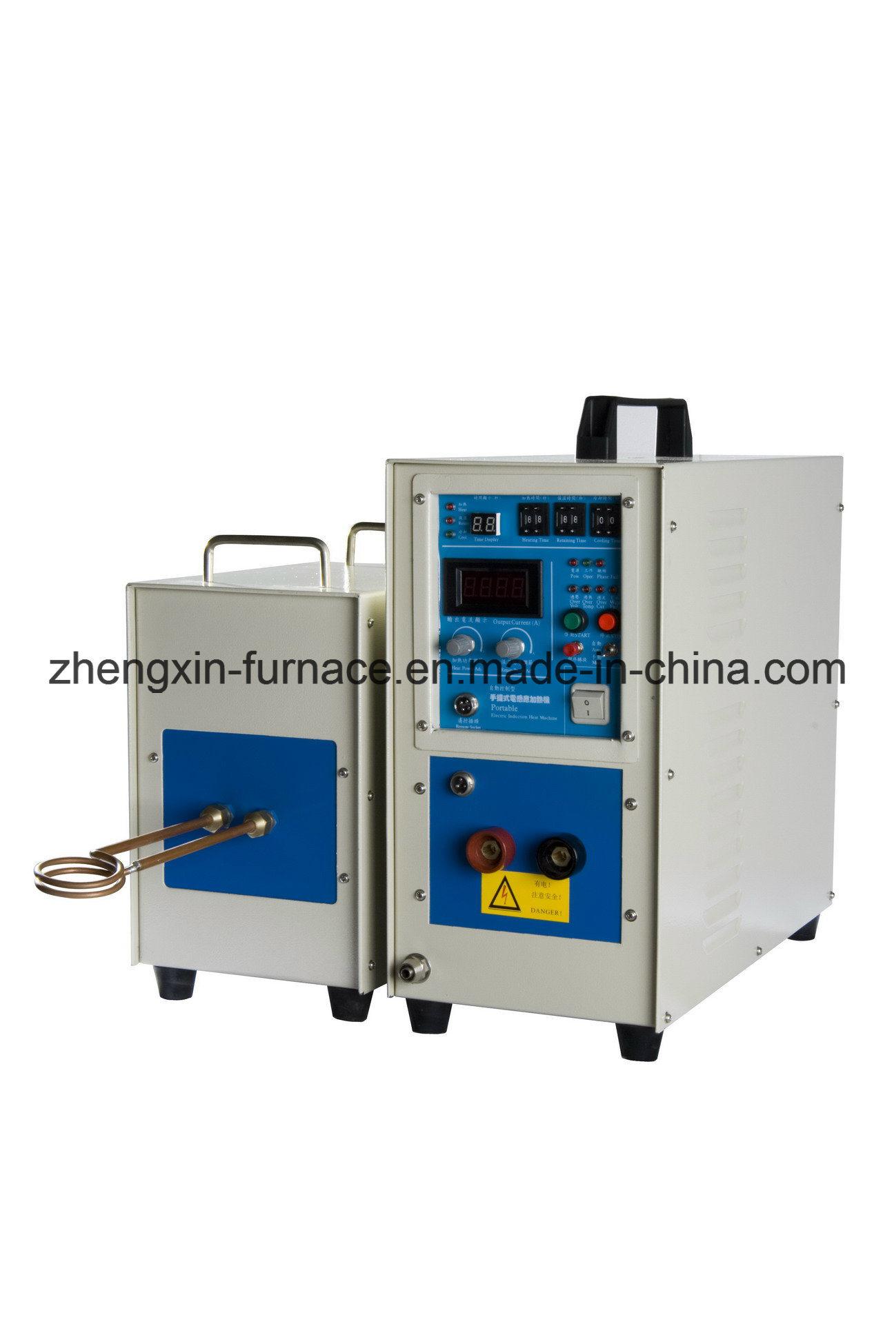 China Medium Frequency Igbt Induction Heating Machine 25kw Iii With Heater Furnace
