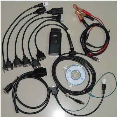 Classic 7 in 1 Motorcycle OBD2 Scanner Motorbike Repair Diagnostic Tool