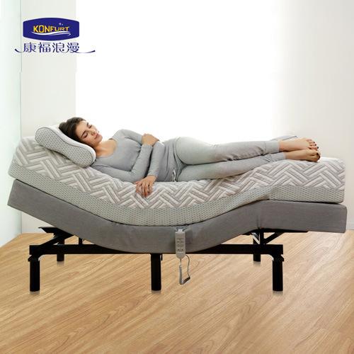 China Massage Home Furniture Wallhugger Electric Adjustable Bed