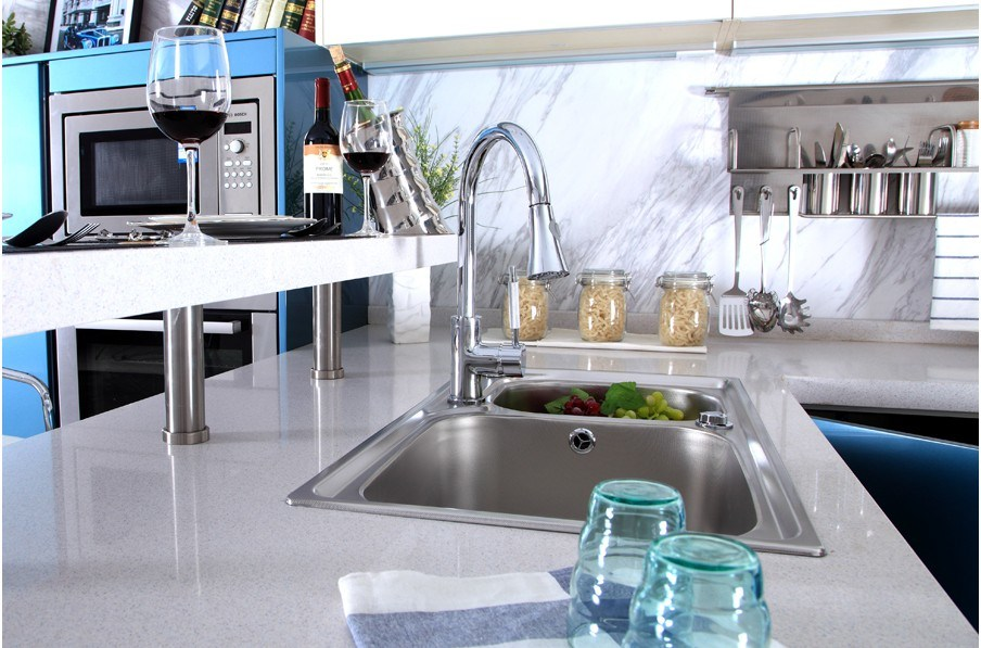 Fashion Acrylic Demet Kitchen Cabinet Design (zv-005)