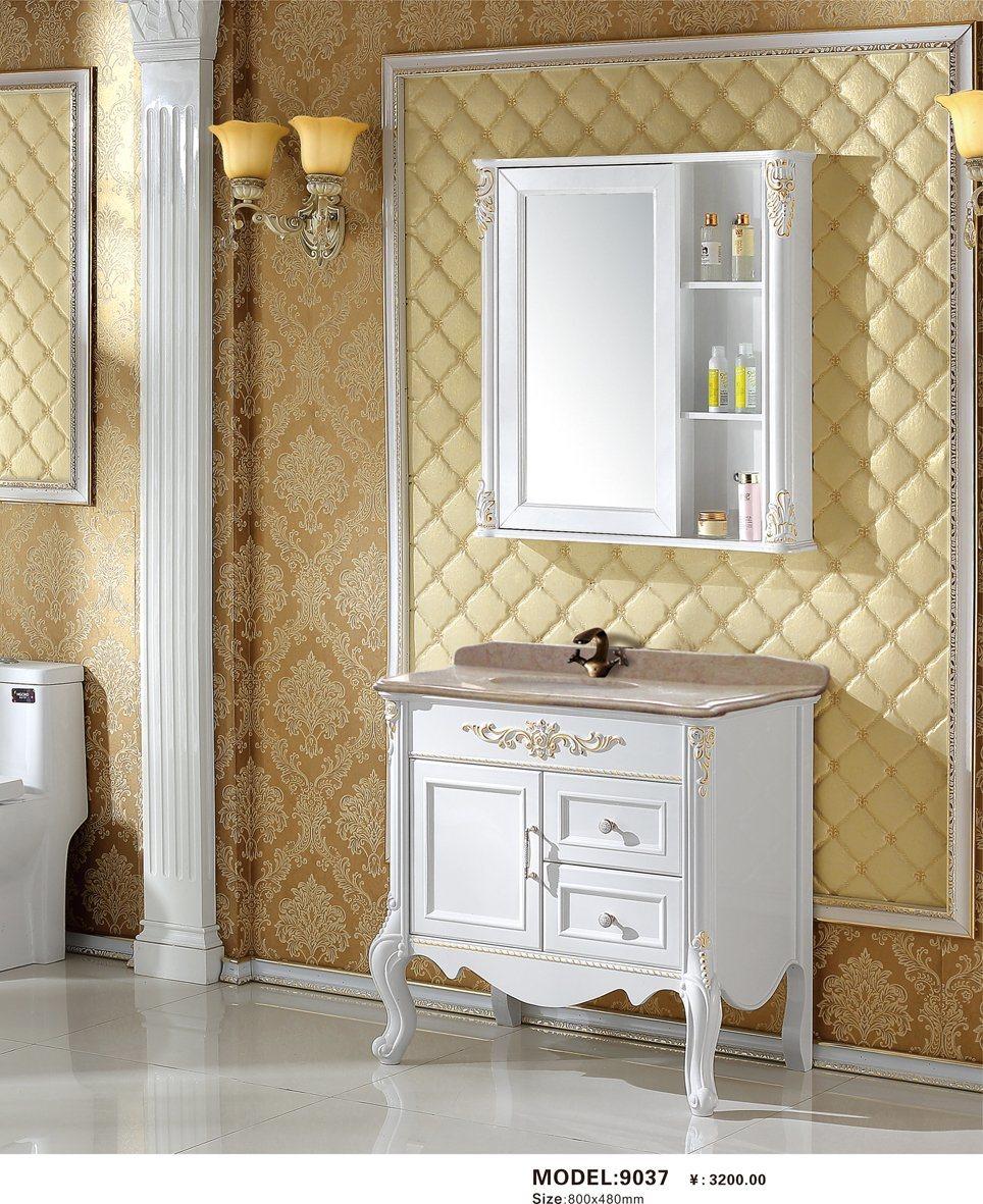 China Modern Simple Floor Mounted, Bathroom Vanity Ensembles
