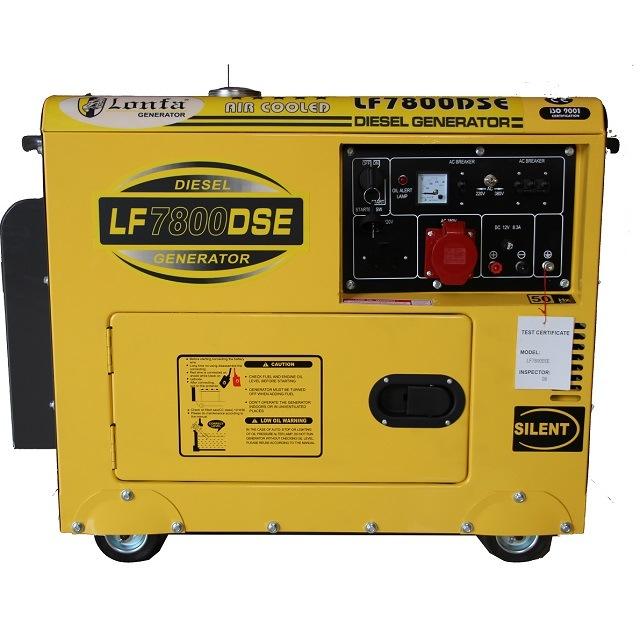 Diesel Generator For Sale >> Hot Item 5kva 6kva 7 5kva 8kva Small Silent Diesel Generator Price For Kenya