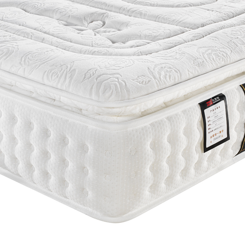 High Grand Lint Cover Natural Latex Compression Mattress with High Resilience Foam Hotel Furniture, Fb658 pictures & photos