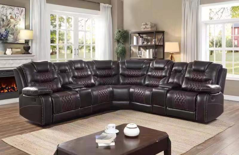 Modern Furniture Reclining Corner Sofa