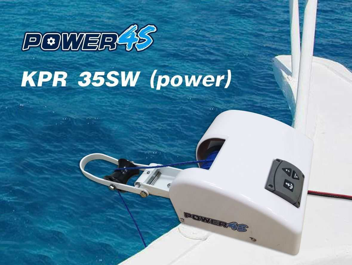 Hot Item 12v Electric Wireless Remote Control Anchor Winch Saltwater 35lbs Marine Boat