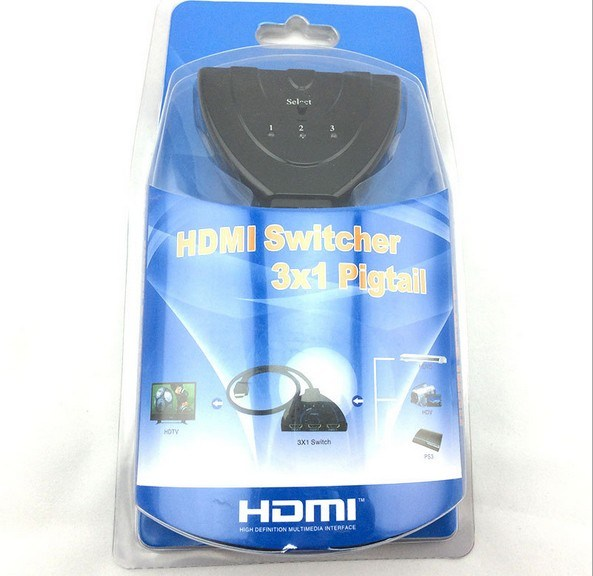 3X1 HDMI Switch up to 1080P pictures & photos