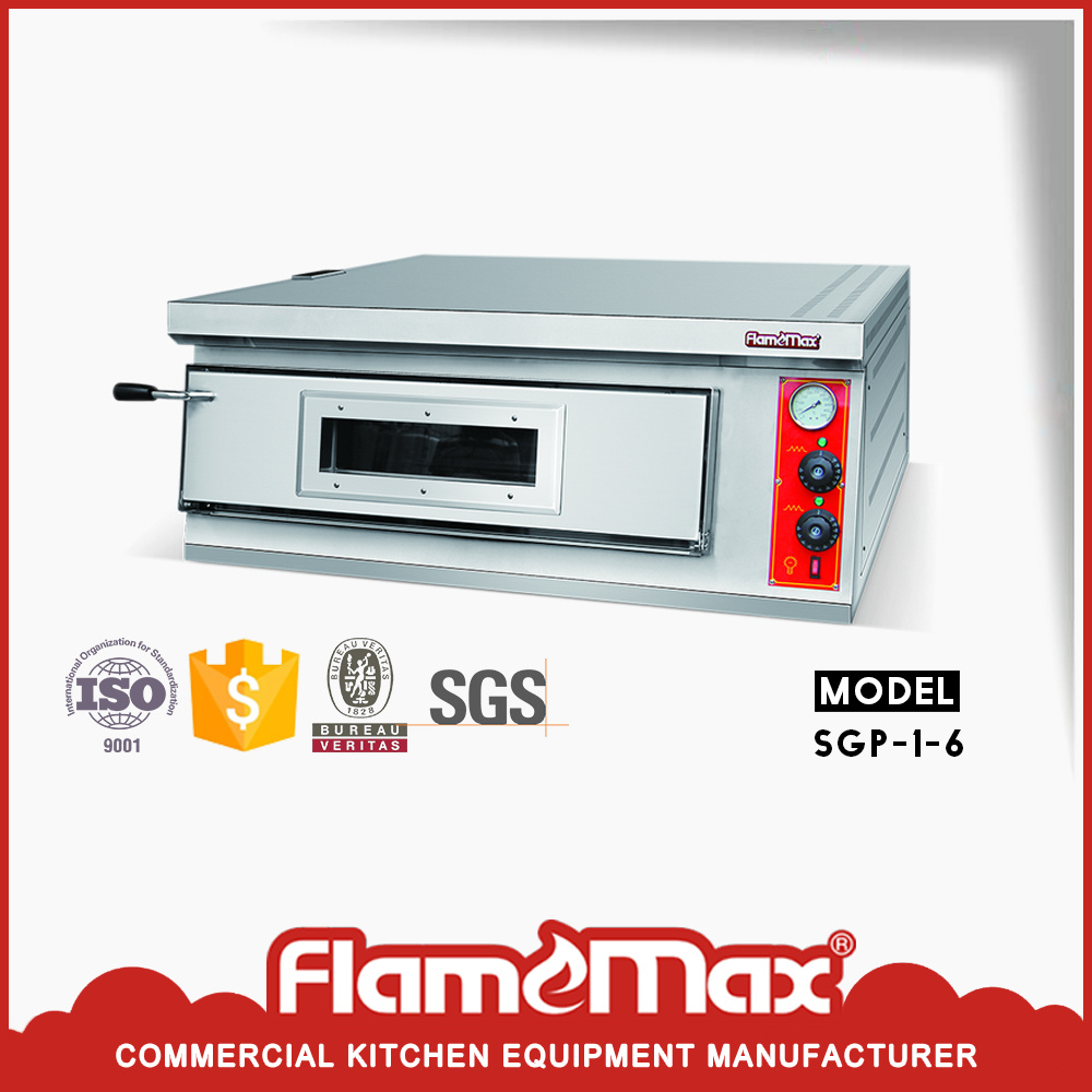 China Stainless Steel Gas Pizza Oven with Ceramic Stone - China ...