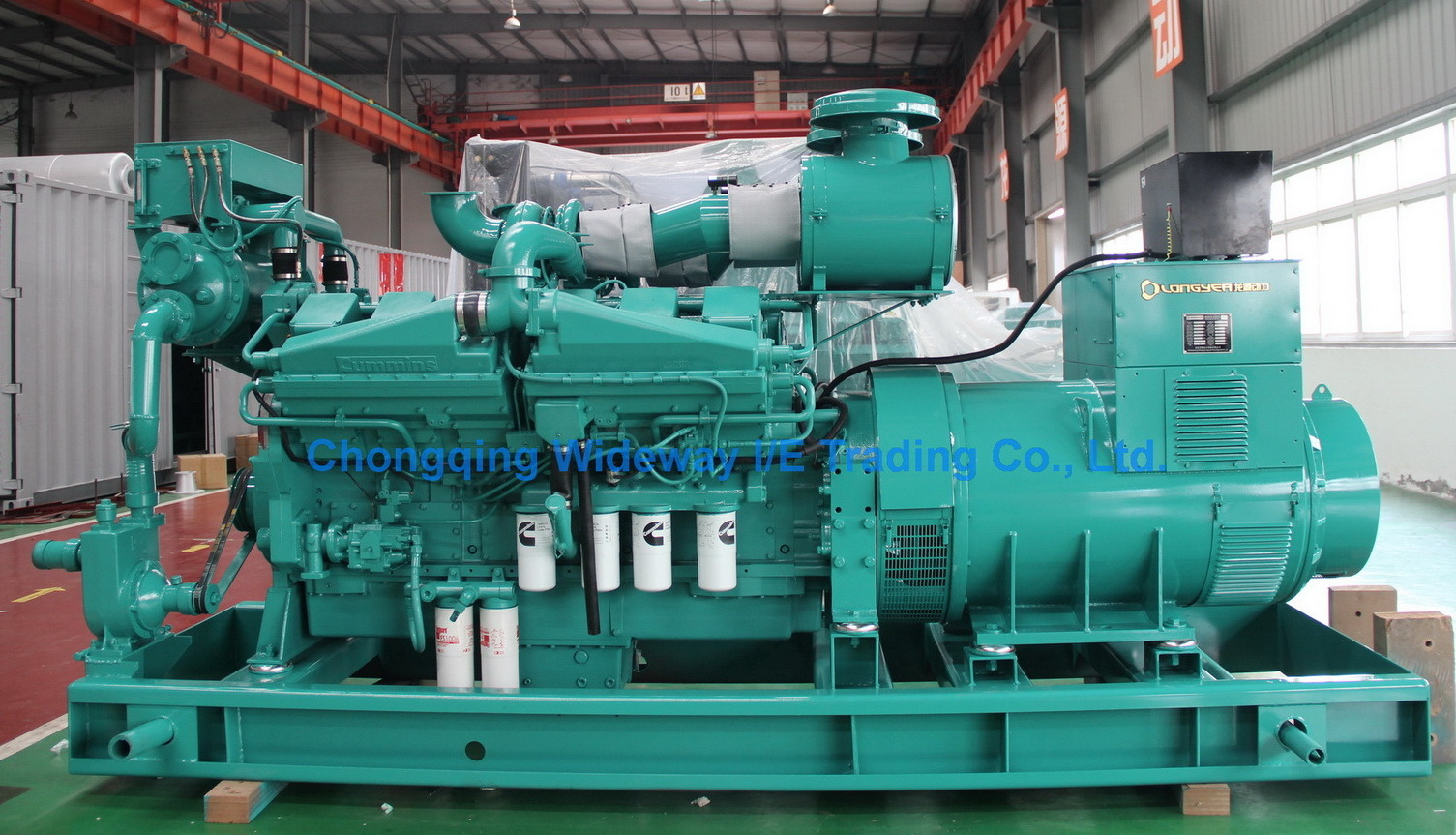 28kVA-2500kVA Cummins Engine Diesel Generator Set
